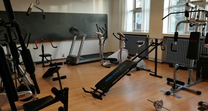 Fitness-lokalet i FIK