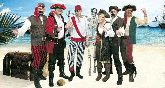 Gå planken ud med et brag af en piratfest!