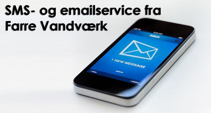 Ny SMS service fra Farre Vandværk