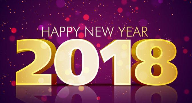Godt Nytår 2018 – og tak for 2017…