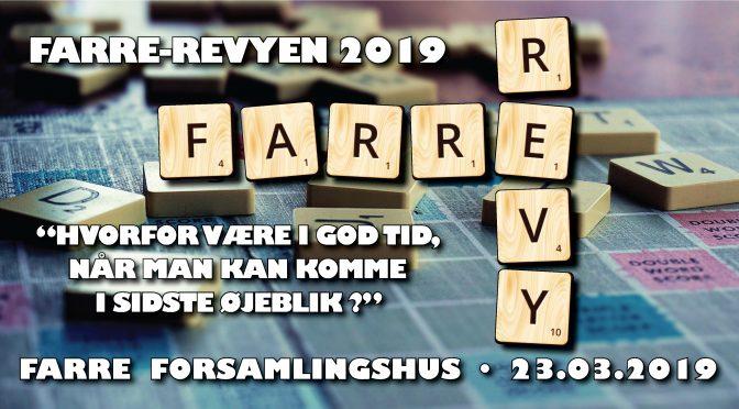 """Så bliver """"låget løftet"""" – for årets Farre Revy 2019"""