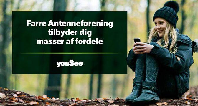 YouSee tilbyder masser af fordele til Farre Antenneforenings kunder
