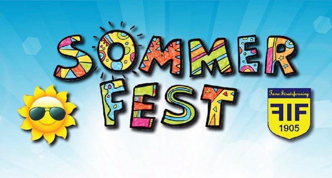Sommerfest i Farre 2019